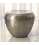 Dharma Side Table | Nickel