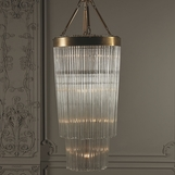 Dianna Glass Chandelier