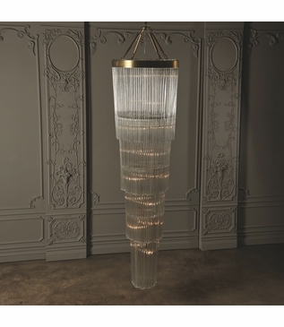 Dianna Grand Glass Chandelier