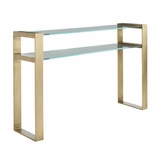 Diaz Console Table | Brass