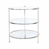 Diego Side Table | Nickel