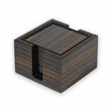 Dolan Wood Coasters Set | Macassar