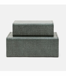 "Doris ""Linen"" Boxes Set 