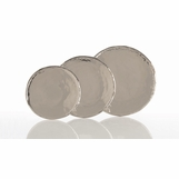 Dorothy Polished Nickel Tray | Round