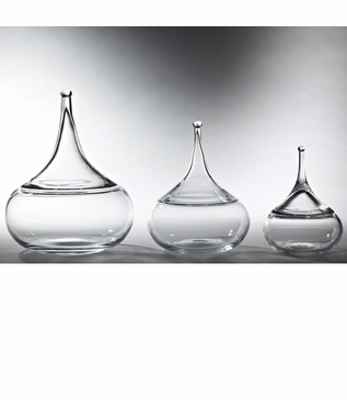 Drip Glass Jars