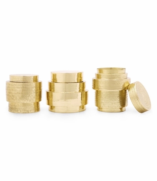 Drummond Canisters Set | Brass