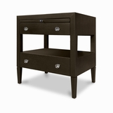 Duncan Side Table, Split Drawers