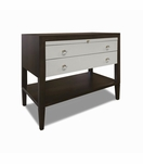 Duncan Side Table, Upper Drawers