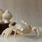 Dungeness Articulated Crab Sculpture
