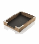 Dustin Desk Letter Tray | Walnut