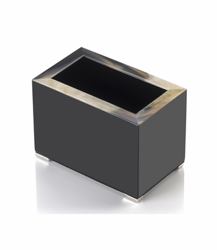 Dustin Lacquer Pen Holder | Black