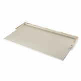Dustin Leather Desk Blotter | Ivory