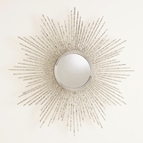 Dynamo Sunburst Mirrors | Nickel