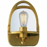 Easton Sconce | Antique Brass