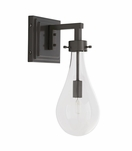 Edison Outdoor Sconce | Dark Iron