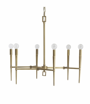 Eduardo Chandelier | Antique Brass