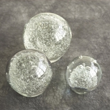 Effervescent Glass Paperweights Set