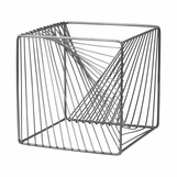 Elon Geometric Sculpture | Cube