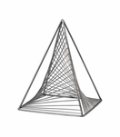 Elon Geometric Sculpture | Pyramid