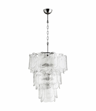 Elsa Glass Chandelier | Medium