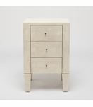 Emmett Narrow Side Table | Ivory