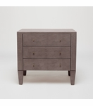 Emmett Wide Side Table | Grey Mink