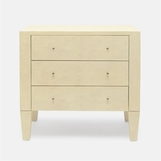 Emmett Wide Side Table | Ivory