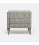 Emmett Wide Side Table | Light Grey