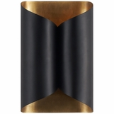 Encase Metal Sconce | Black