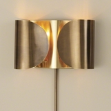 Envelop Metal Sconce | Brass