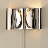 Envelop Hardwire Metal Sconce | Nickel