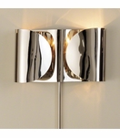 Envelop Metal Sconce | Nickel
