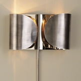 Envelop Metal Sconce | Silver