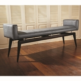 Eugenia Leather Bench