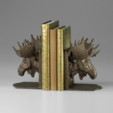 European Elk Bookends