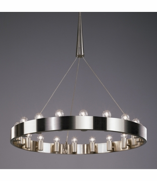 Eveleigh Chandeliers | Brushed Nickel