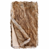 "Exotique ""Fur"" Throw 