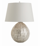 Ezra Silvered Glass Lamp
