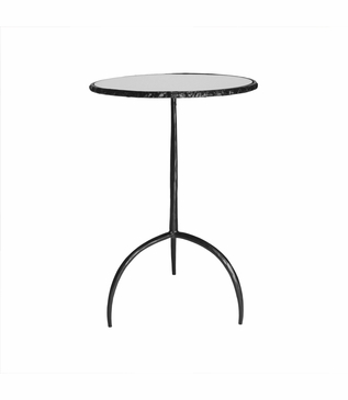 Farley Iron Side Table | Round