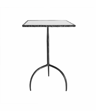 Farley Iron Side Table | Square