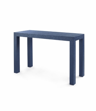 Finn Upholstered Console | Dark Blue