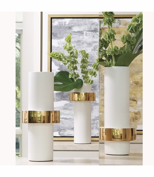 Fiona Ring Vases | Gold
