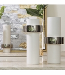 Fiona Ring Vases | Silver
