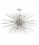 Fireball Fixed Chandelier | Nickel