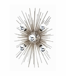 Fireball Sconce | Polished Nickel