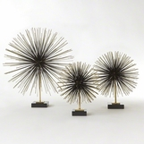 Firecracker Standing Sculptures | Brass