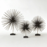 Firecracker Standing Sculptures | Nickel