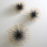 Firecracker Wall Sculptures | Brass
