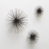 Firecracker Wall Sculptures | Nickel