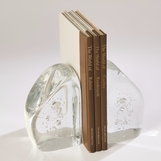 Fizzy Art Glass Bookends